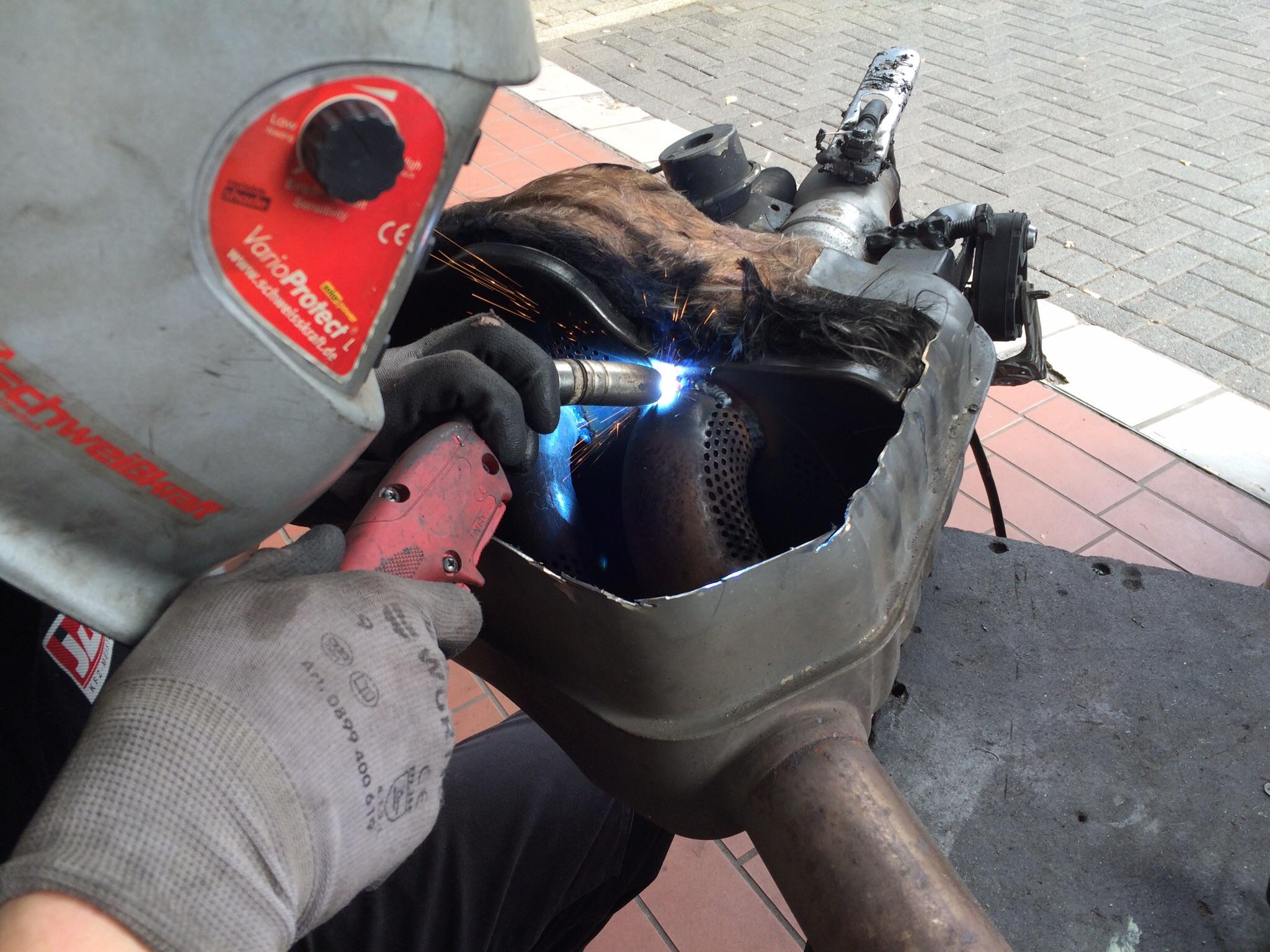 Abgasanlagen Modifizierung
